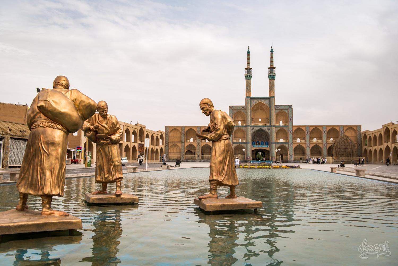 جاذبه های گردشگری استان یزد (شهر قنات ،قنوت،قناعت)