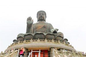 بودای بزرگ قوی سیاه